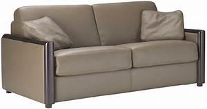 canap lit capri cuir canap lit quotidien cuir pas cher With tapis jaune avec petit canapé deux places pas cher