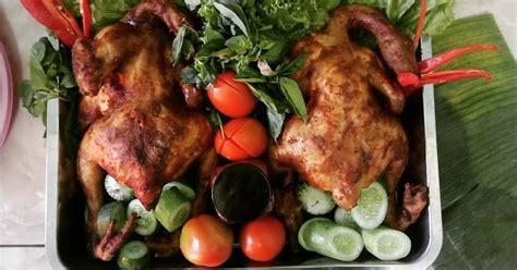 Setelah ayam utuh dicuci bersih, tiriskan lalu keringkan. 287 resep ayam panggang oven utuh enak dan sederhana ala rumahan - Cookpad