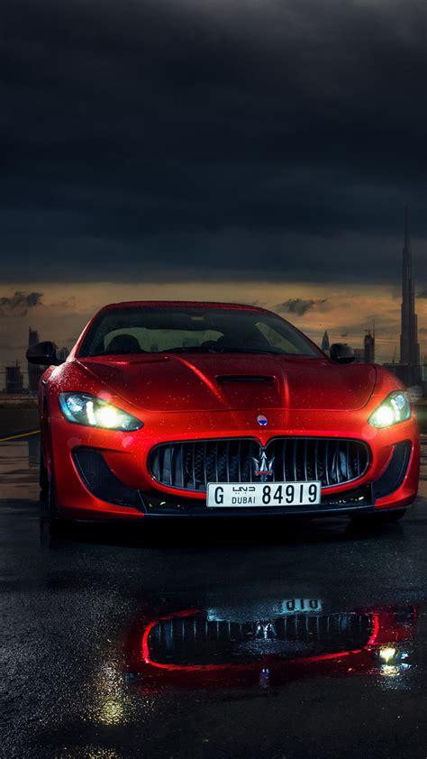 Hot Red Maserati