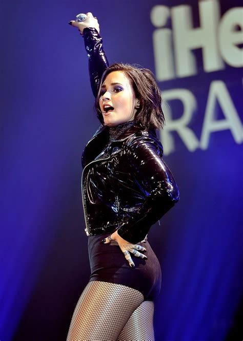 demi lovato performs  wild  fms jingle ball   oakland
