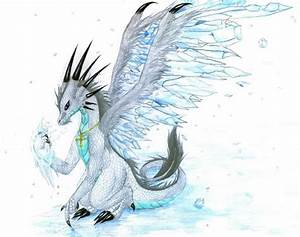 Ice Dragon by Avadras on DeviantArt