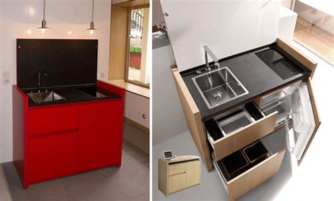 cuisines compactes 10 idées pour optimiser l 39 aménagement d 39 un studio partie