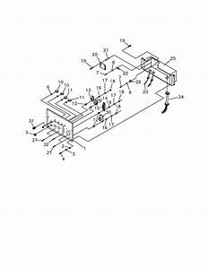 Control Panel Diagram  U0026 Parts List For Model 580327181 Craftsman