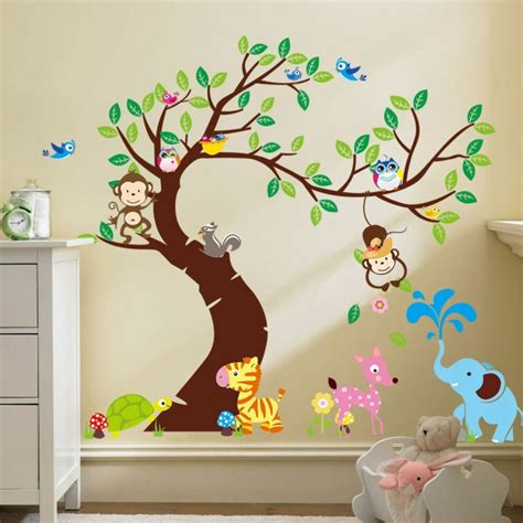 Jungle Wall Stickers For Kids Rooms