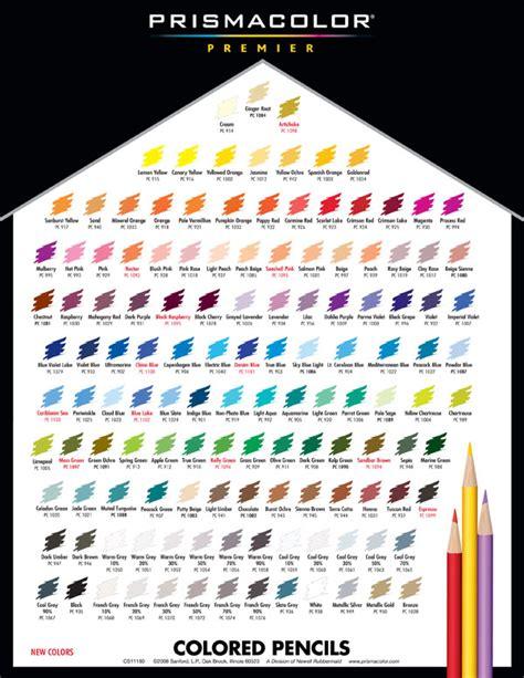 prismacolor pencils color chart prisma pencils color chart aspx