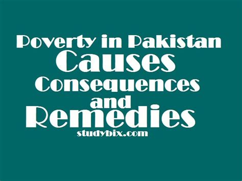 Poverty In Pakistan Essay by Essay On Poverty In Pakistan Causes Consequences And
