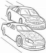 Coloring Cars Nascar Race Formula Sprint Track Drawing Drag Racing Printable Colouring Getdrawings Getcolorings Colorings Drawings sketch template