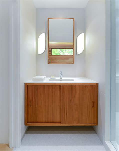Halfmoon Design Bathroom Midcentury With Halfmoon Bay
