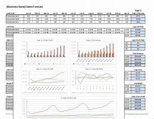 sales forecast template for excel With sales projection template free download