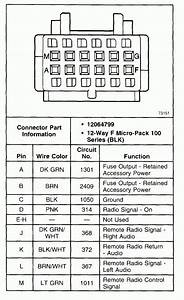 2002 Chevy Silverado 1500 Radio Wiring Diagram