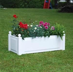 bac plantes en pvc syma mobilier jardin mobilier With chambre bébé design avec grand bac fleur