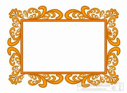 Frame Clipart Frames Clip Ornate Classroom Clipground