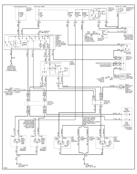 Tail Light Wiring Diagram For Chevy Impala