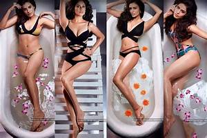 Miss Universe India 2016 contestants swimsuit photoshoot ...