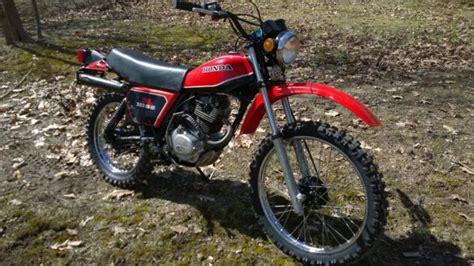 1981 Honda Xl185 S Xl 185 Enduro Vintage Dual Sport