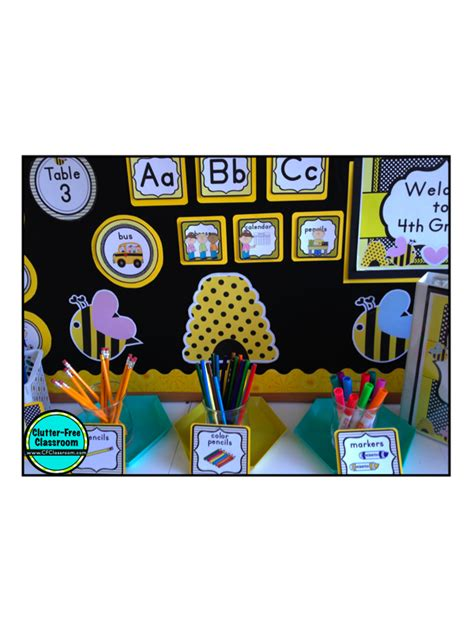 bee themed classroom  tips ideas pictures
