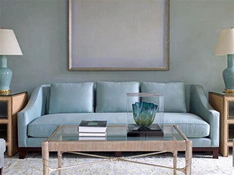 canapé classe du bleu dans le salon cocon de décoration le