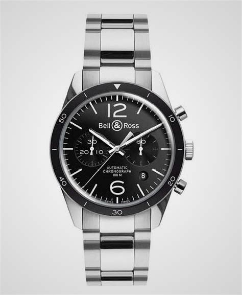 Bell & Ross Vintage Br126 Sport Chronograph 3 • Thecoolist