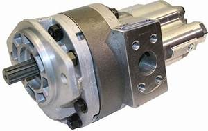 At114134 Deere 310c 315c 300d 310d Backhoe Hydraulic Pump