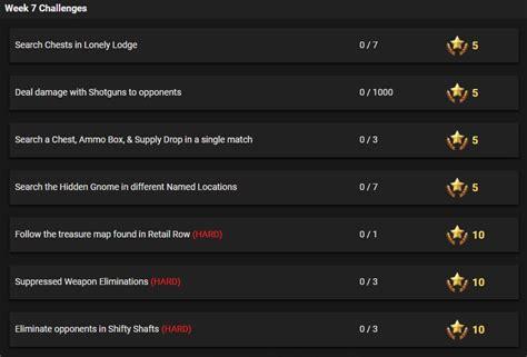 fortnite week 7 challenges season 3 week 7 challenges for fortnite battle royale
