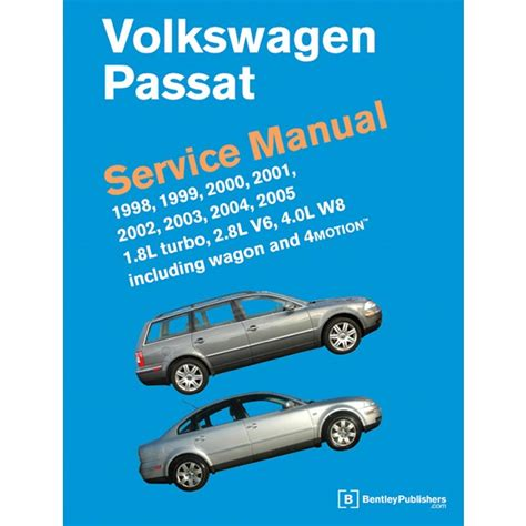 old car repair manuals 2000 volkswagen passat transmission control volkswagen passat b5 b5 5 1998 2005 service manual two volume set vp05 by bentley publishers