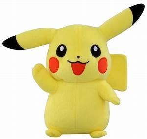 takaratomy best wishes pokemon diamond pearl plush stuffed toy pikachu 7