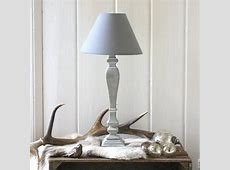 gustavian grey table lamp by magpie living