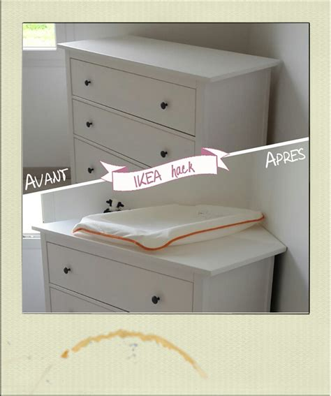 commode d angle pour chambre table à langer d 39 angle diy ikea hack