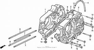 Crankcase For 1999 Honda Z50