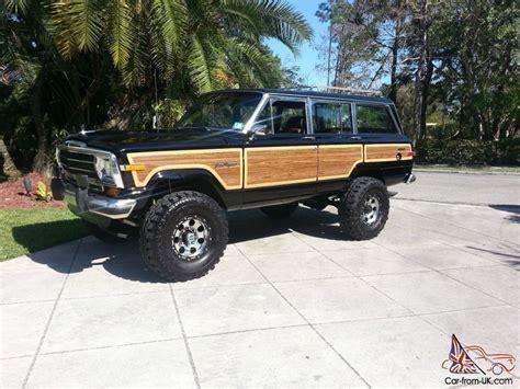 wagoneer jeep lifted 1989 jeep grand wagoneer 360 4x4 lifted amazing eye