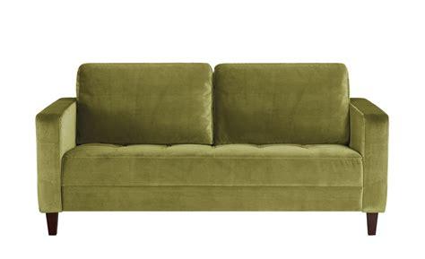 Sofa Grün by Smart Sofa Gr 252 N Mikrofaser Geradine 2 Sitzer Gr 252 N