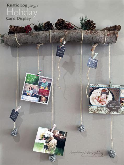 unique ways  display  christmas cards