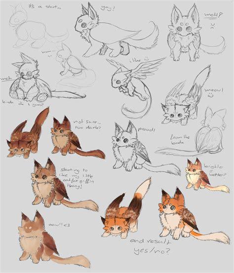 character design process  nezupanda  deviantart