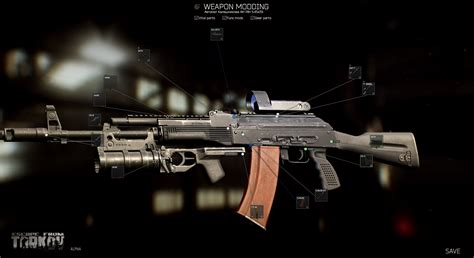 Escape From Tarkov Screens Show Current Alpha State