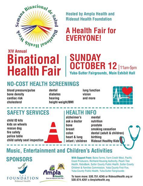 Binational Health Fair   Sutter County Children & Families ...