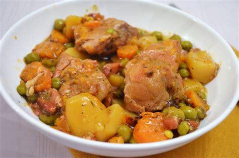 cuisiner le sauté de porc sauté de porc en ragoût une recette de mijoté