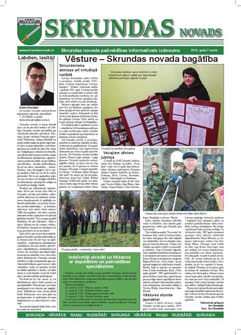 Skrundas novads marts 2014 by Skrundas novads - Issuu