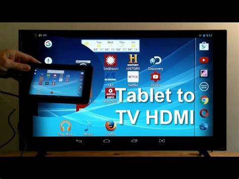 how to connect my android to my tv how to connect tablet to tv using hdmi easy