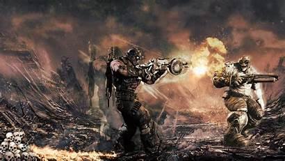 Gears War Wallpapers Backgrounds Desktop Epic Background