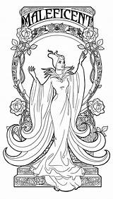 Coloring Pages Maleficent Alice Grandpa Uncle Wonderland sketch template