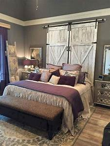 45, Warm, And, Cozy, Rustic, Bedroom, Decorating, Ideas, Home