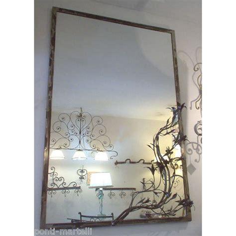 cornice 100 x 35 cornice design ferro battuto per specchio o foto con o