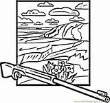 Canyon Coloring Pages Coloringpages101 Usa sketch template