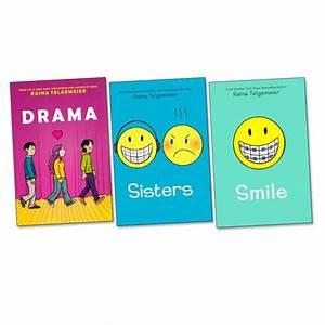 Raina Telgemeier Graphic Novels Trio - Scholastic Shop