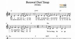 Resensi Musik: Partitur Lagu Not Balok & Angka (Indonesia ...