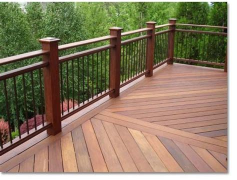 Porch Railing Wood - 26 most stunning deck skirting ideas to try at home