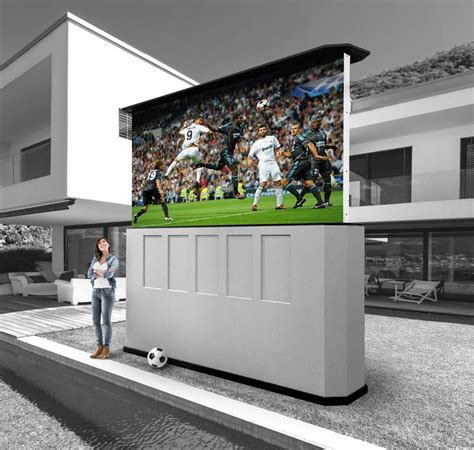 patio theater  led screen tv weather proof outdoor