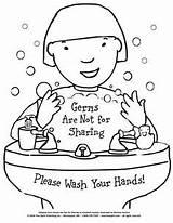 Hygiene Printable Health Germs Coloring Habits Healthy Handwashing Sharing Lessons Worksheets Preschool Strong Routines Heinlen Verdick Behavior Marieka Elizabeth Board sketch template