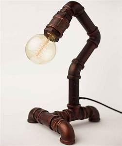 Industrial pipe lamp by william watson