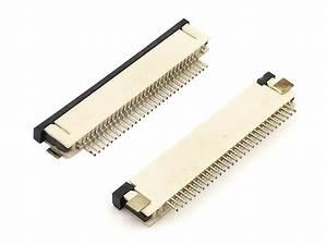 0 80mm Smt Type Bottom Contactfpc  Ffc  Zip  Connector
